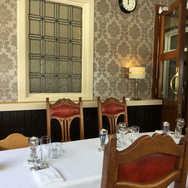 Rondreis Schotland Tongue Tongue hotel detail van het restaurant