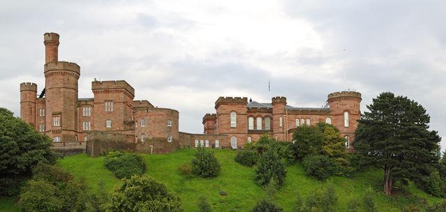 Inverness kasteel Schotland