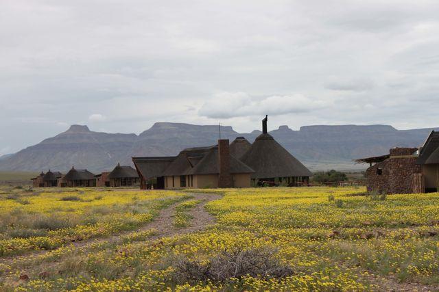 Rondreis Namibie Hoodia desert lodge aanzicht