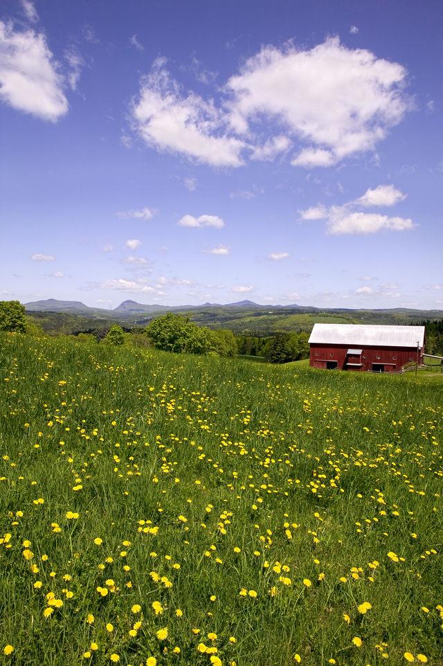 Vermont landschap Verenigde Staten