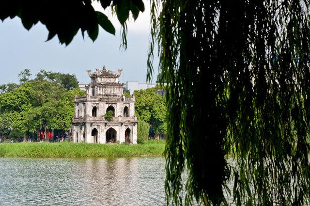 Hoan Kiem Meer Hanoi