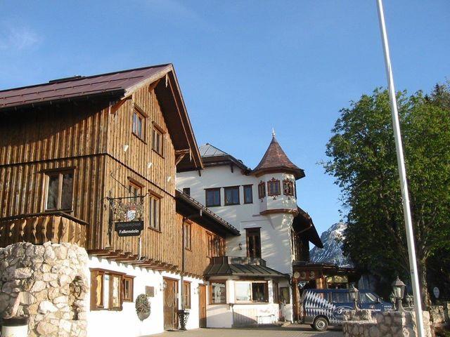 Burghotel Auf dem Falkenstein Pfronten gevel