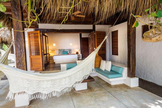 Rondreis Colombia Bolivar Islas Rosario San Pedro de Majagua met een suite met terras