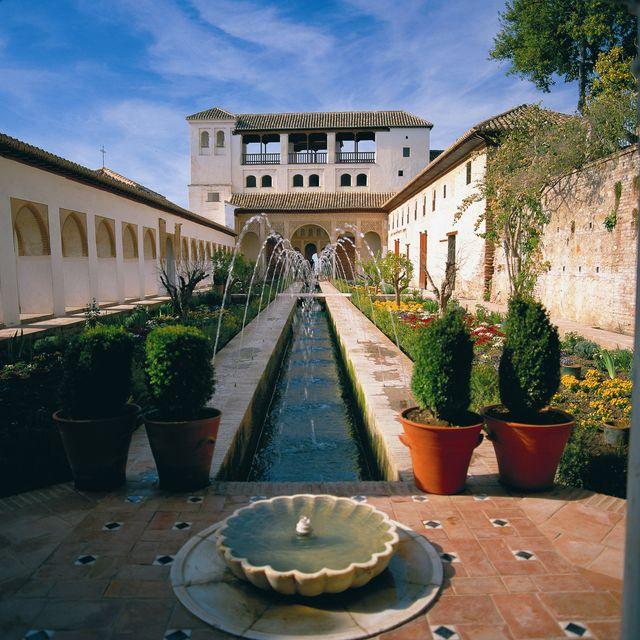 Andalusië Granada Alhambra
