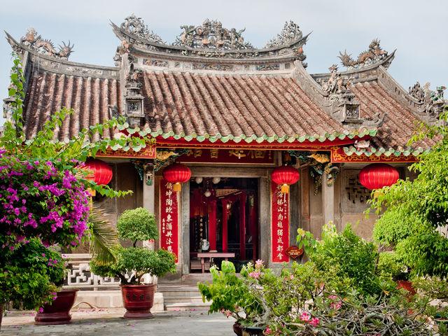 Hoi An Pagoda Vietnam