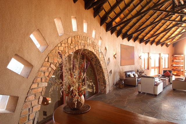 Rondreis Namibie Gocheganas lounge
