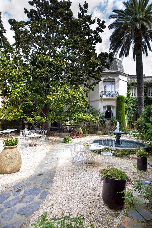 Casa Païral Collioure tuin