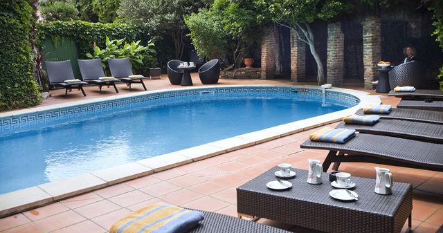 Casa Païral Collioure zwembad