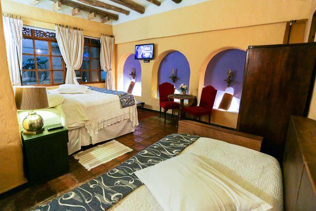 Rondreis Colombia Ricaurte Villa de Leyva Posada de San Antonio nog een 3-persoonskamer
