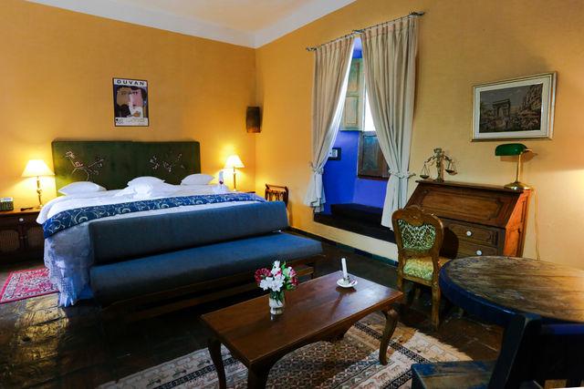Rondreis Colombia Ricaurte Villa de Leyva Posada de San Antonio 2-persoonskamer met zitje