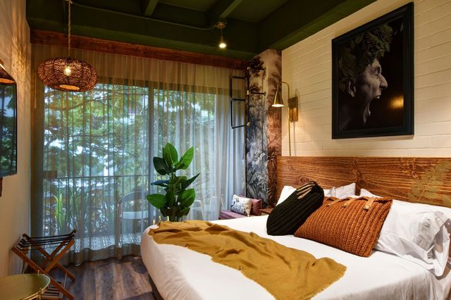 Rondreis Colombia Antioquia Medellin Casa Celestino boutique overzicht slaapkamer