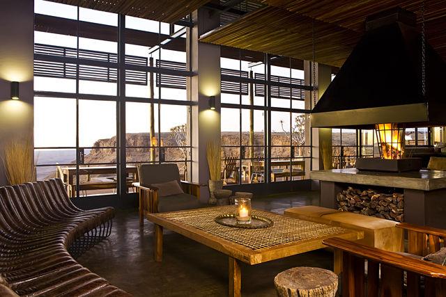 Rondreis Namibie Fish River Lodge lounge