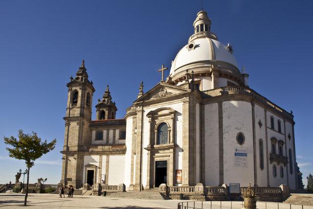 Santuário do Sameiro Braga Noord-Portugal