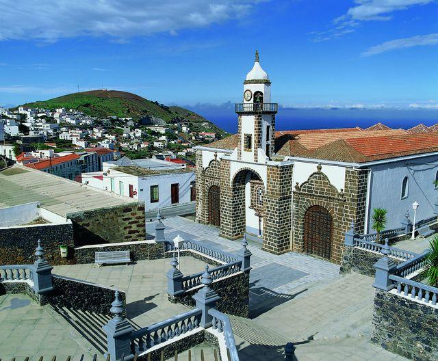 Rondreis Island hoppen Canarische Eilanden El Hierro kerkje in hoofdstad Valverde
