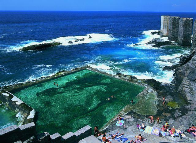 Rondreis Islandhoppen Canarische Eilanden La Gomera natuurlijke zwembaden van La Hermigua