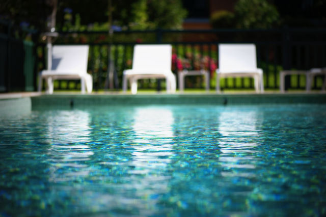 Les Freres Ibarboure Bidart zwembad