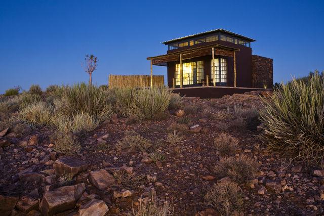 Rondreis Namibie Fish River Lodge chalet