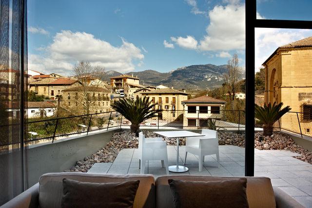 Viura Villabuena de Alava balkon