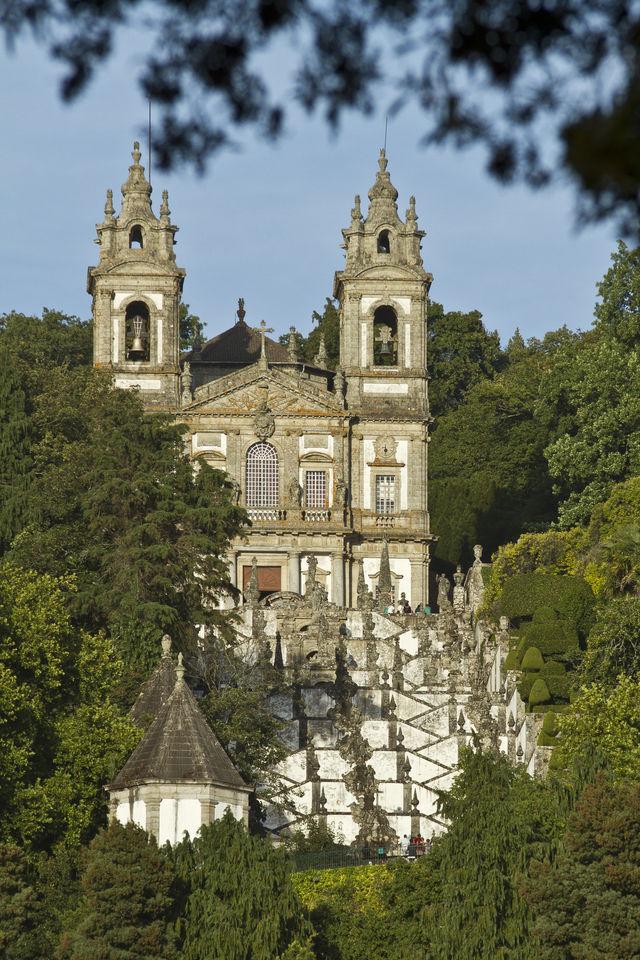 Santuário do Bom Jesus Braga Noord-Portugal