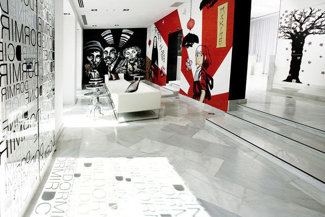 Dormirdcine Madrid lobby