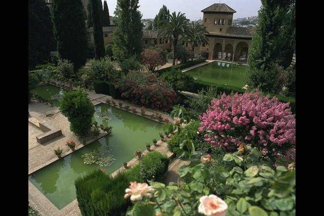 Alhambra Granada Andalusië Spanje