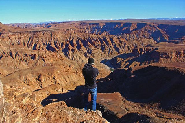 Rondreis Namibie Fish River Canyon view