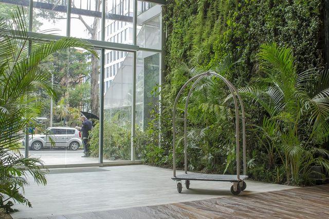 Rondreis Colombia Cundinamarca Bogota Bioxury hotel entree