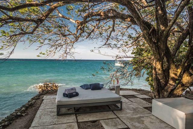 Rondreis Colombia Bolivar Islas Rosario uitzicht over zee