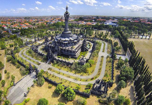 Bajra Sandhi Denpasar Bali Indonesië