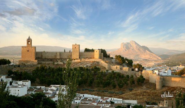 Antequera Alcazaba Andalusië Spanje