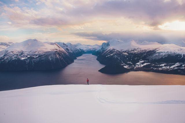 Ålesund Sunnmøre Noorwegen