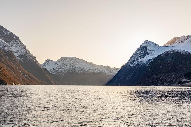 Bergen Ålesund Sunnmøre Noorwegen