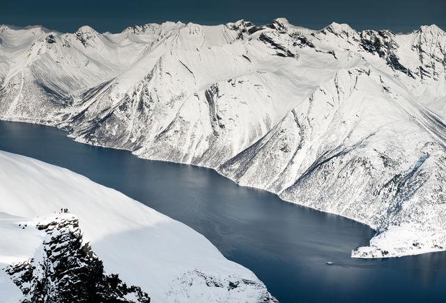 Fjord Ålesund Sunnmøre Noorwegen