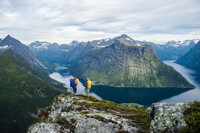 Hiken Ålesund Sunnmøre Noorwegen