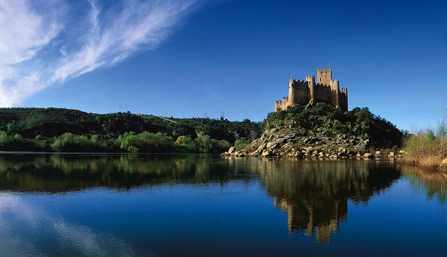Almourol Castle Beiras Portugal
