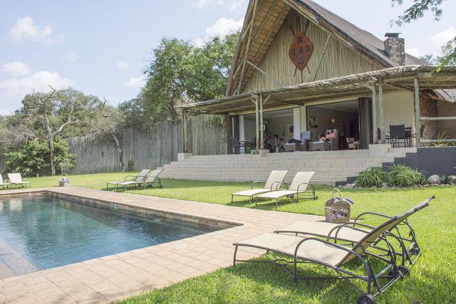 Rondreis Zuid-Afrika Amakoshi Safari Lodge Privé villa