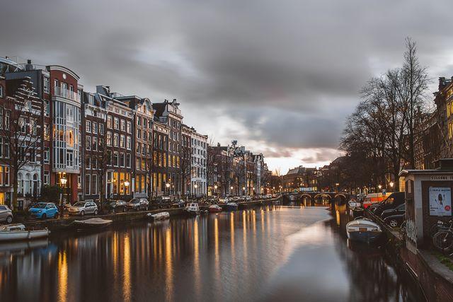 Grachten Amsterdam Noord-Holland Nederland