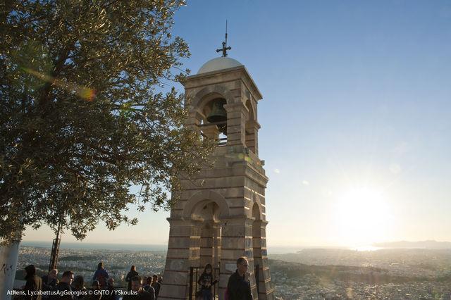 Agios Georgios Kerk Athene Griekenland