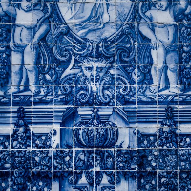Portugal Porto Azulejos Mozaïek