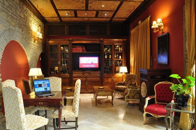 Posada de Vallina Cordoba lounge