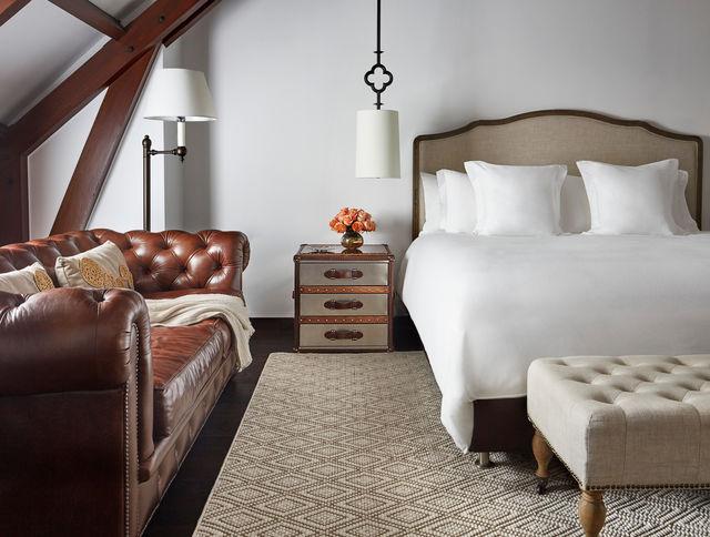 Rondreis Colombia Cundinamarca Bogota Casa Medina voorbeeld slaapkamer