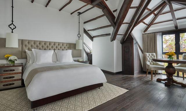Rondreis Colombia Cundinamarca Bogota Casa Medina superior slaapkamer