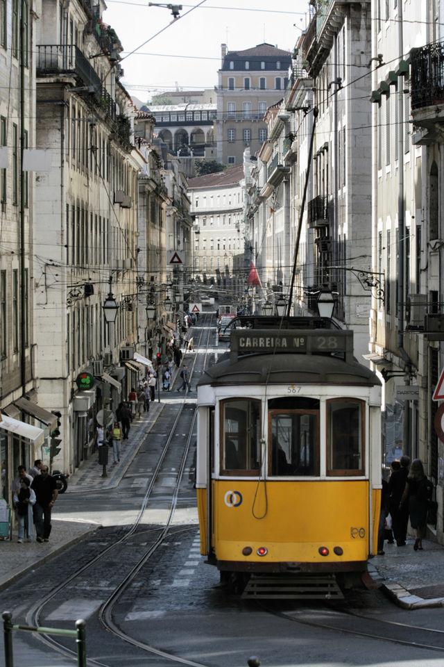 Portugal Lissabon trein