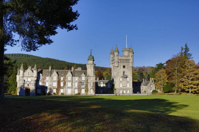 Balmoral kasteel Ballater Schotland