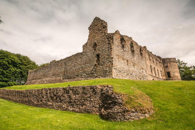 Balvenie kasteel ruïnes Schotland