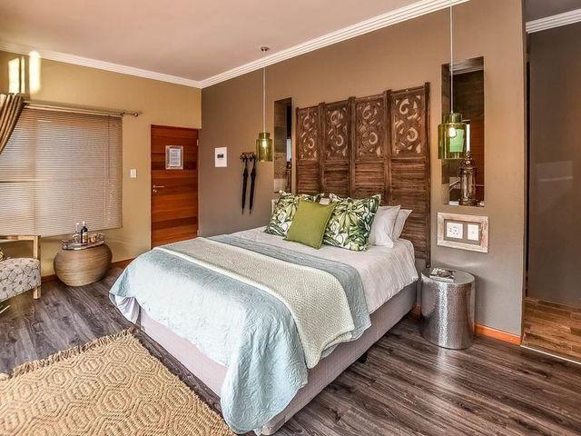 rondreis Zuid-Afrika Bambuu Lakeside lodge slaapkamer