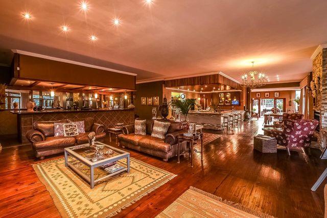 rondreis Zuid-Afrika Bambuu Lakeside lodge bar en lounge