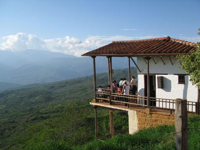 Rondreis Colombia Santander Barichara uitzichtspunt over de omgeving
