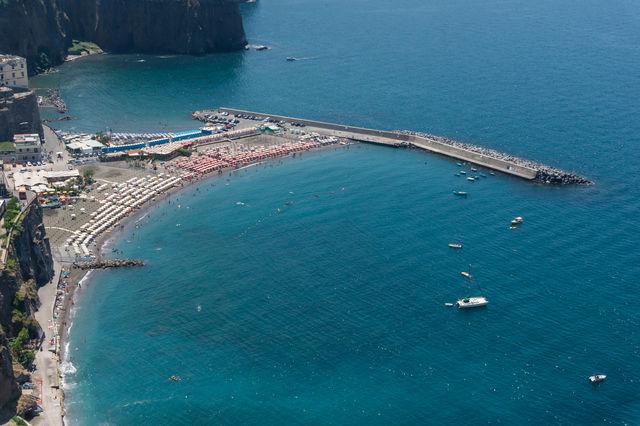 Italië Campania Napels strand Montechiaro