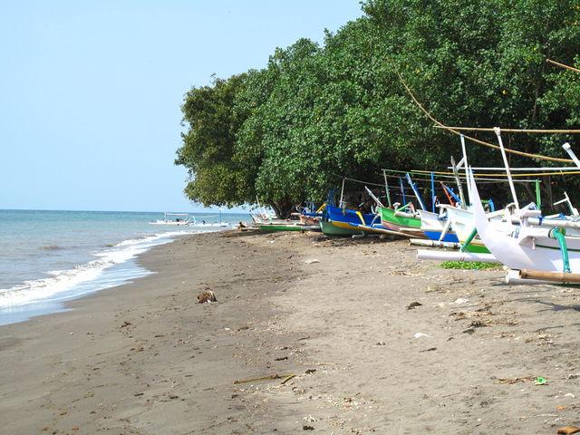 Lovina strand Bali Indonesië